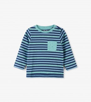 Hatley infant boy's striped top
