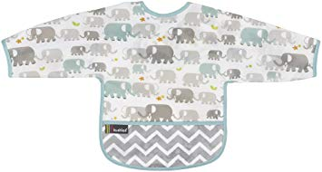 Kushies bib with sleeves 12-24 month