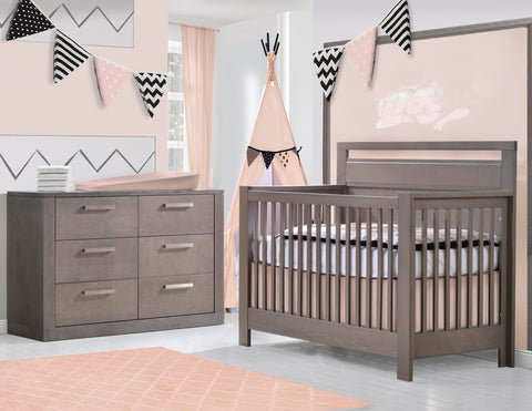 Nest Juvenile Milano crib - call or visit us to order - not sold online - in-store pickup only