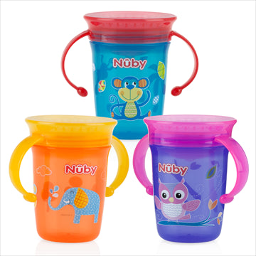 Nuby No-Spill 360 Wonder cup