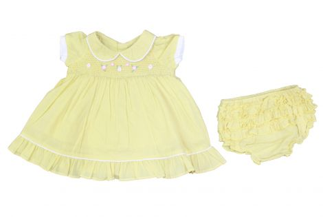 Rock a Bye infant girl's dress