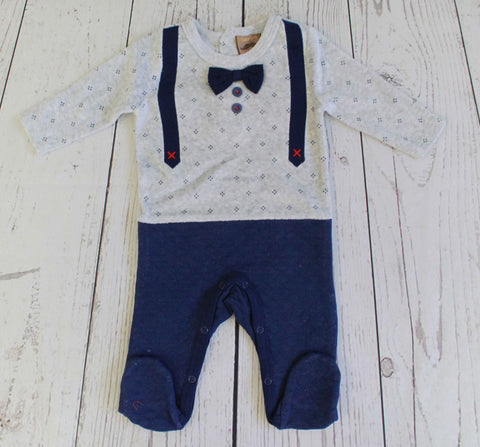Little Gent suspenders sleeper