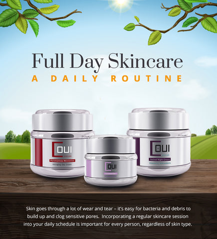 glow skin care - full day skincare routine