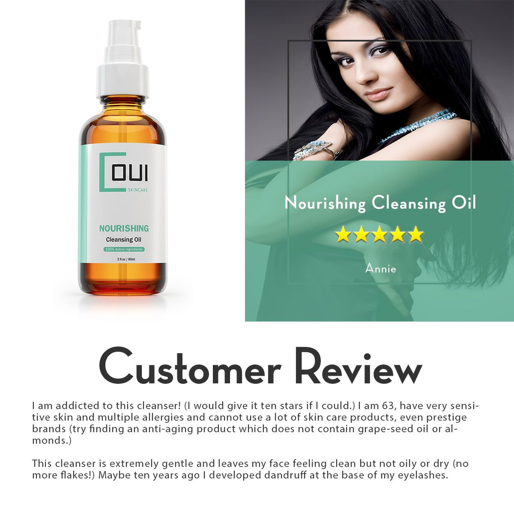 COUI Nourishing Facial Cleansing Oil Customer Review