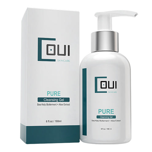 COUI Pure Cleansing Facial Gel Package