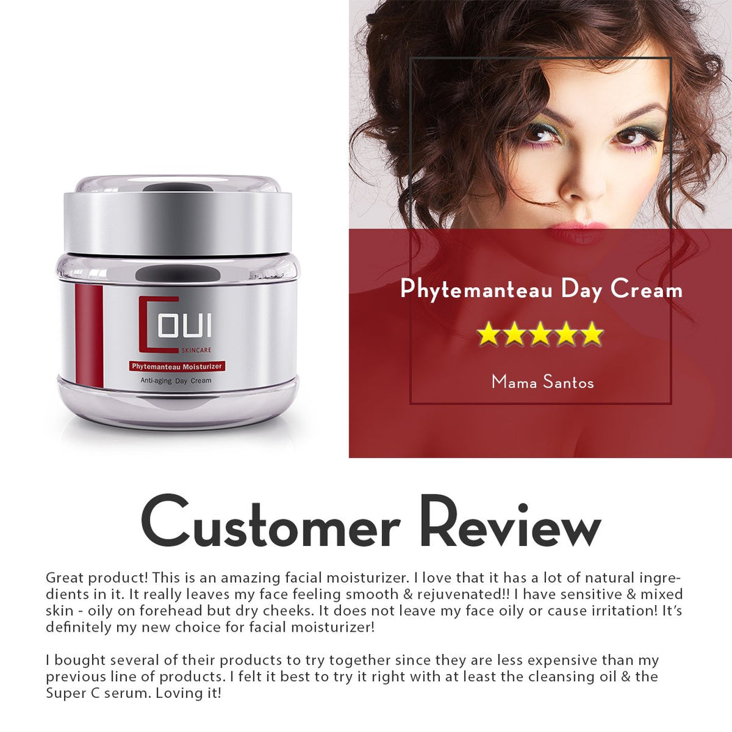 COUI Phytemanteau Day Cream Customer Review