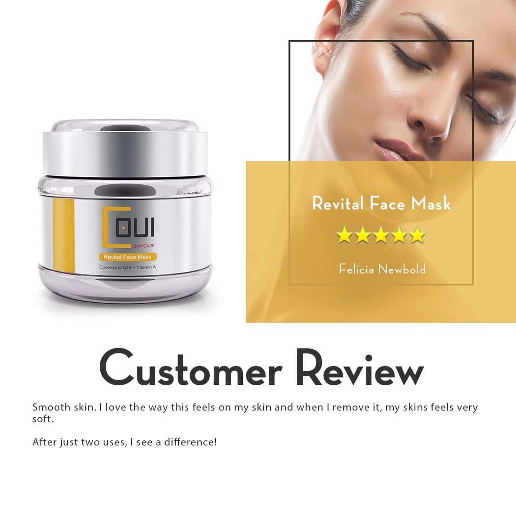 COUI Revital Face Mask Review