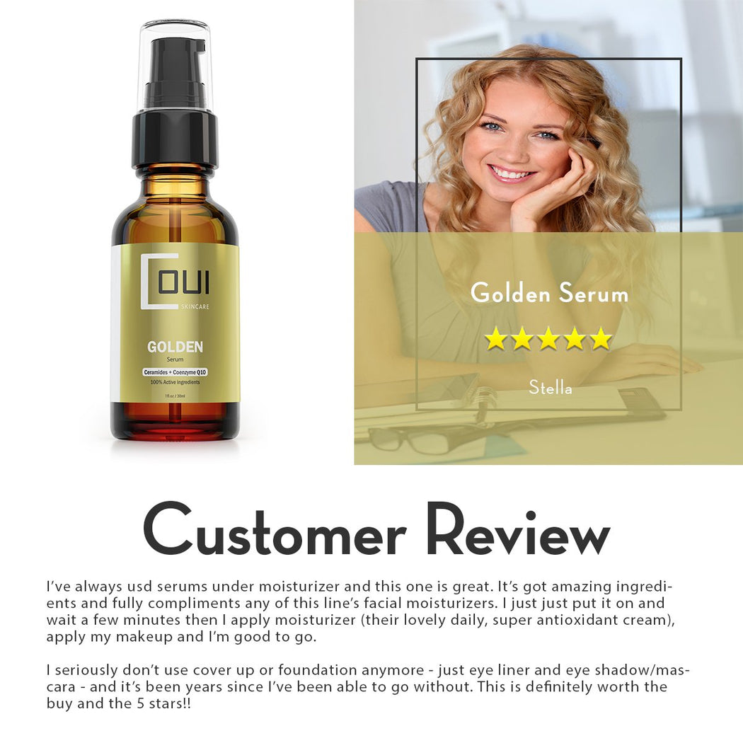 COUI Golden Serum Customer Review