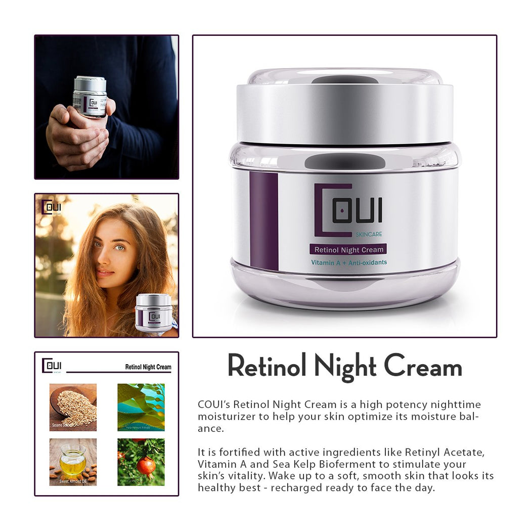 COUI Retinol Night Cream Product Summary