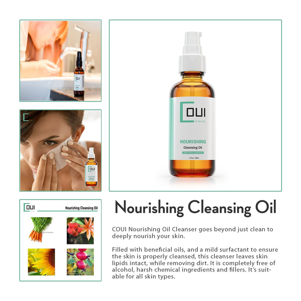 COUI Nourishing Facial Cleansing Oil Product Summary