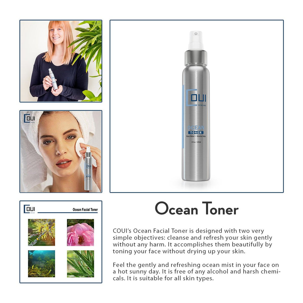 COUI Ocean Facial Toner Product Summary