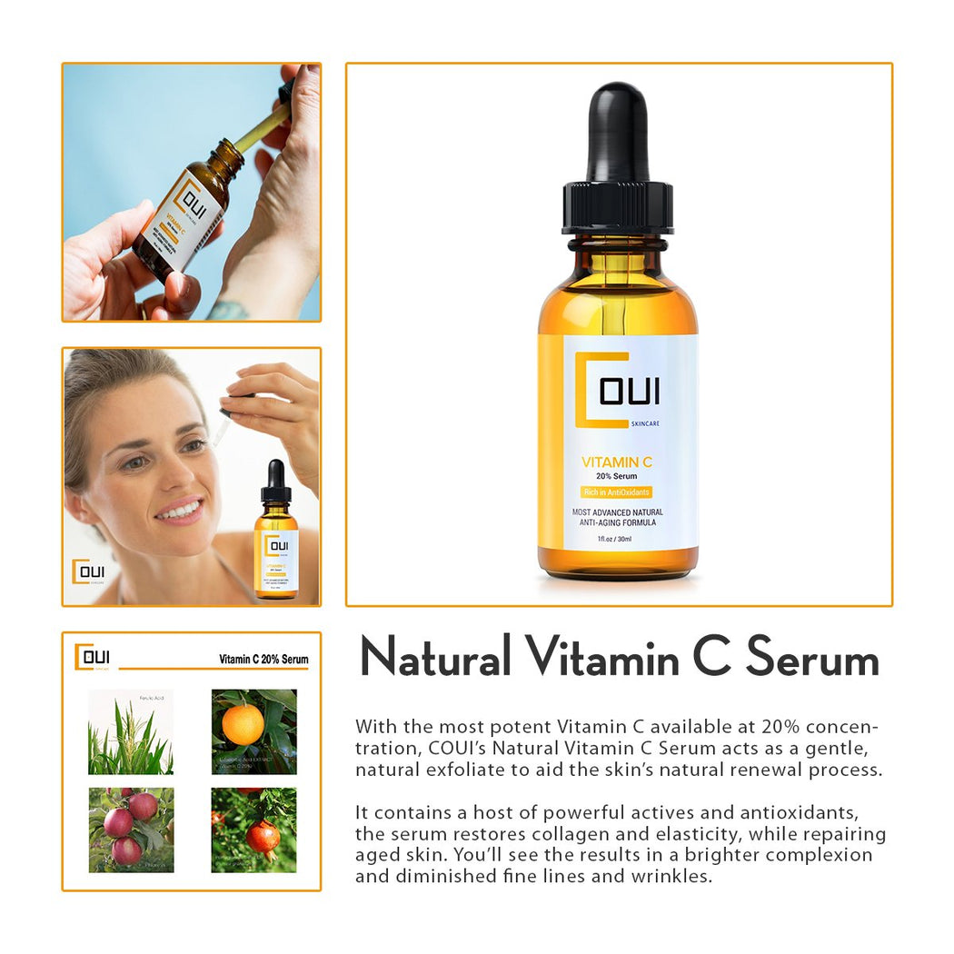 COUI Natural Vitamin C Serum Product Summary