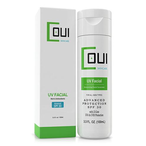 COUI Moisturizing SPF 30 Facial Sunscreen Lotion Box