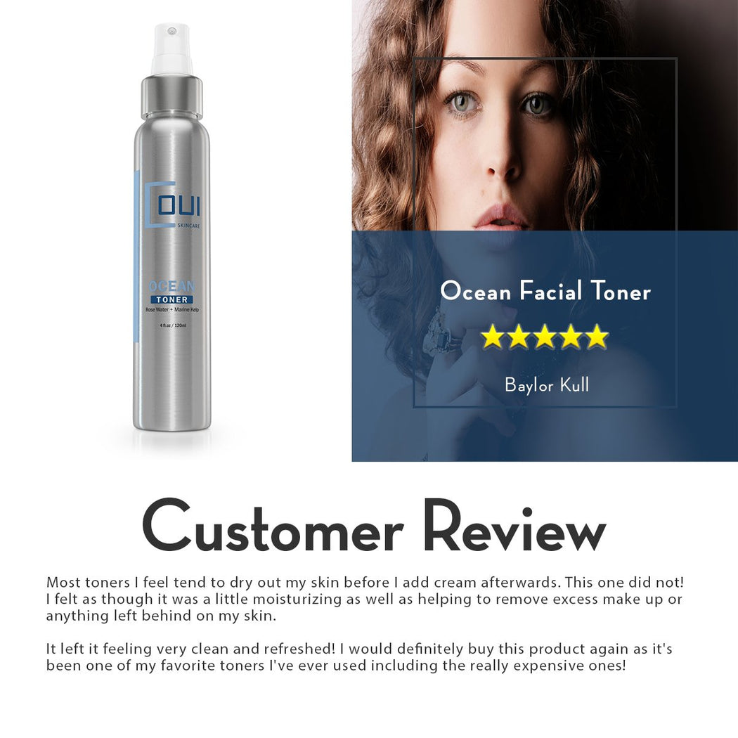 COUI Ocean Facial Toner Customer Review