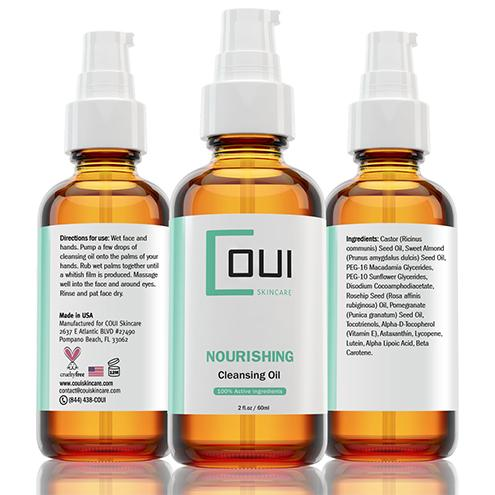 COUI Nourishing Facial Cleansing Oil Triple
