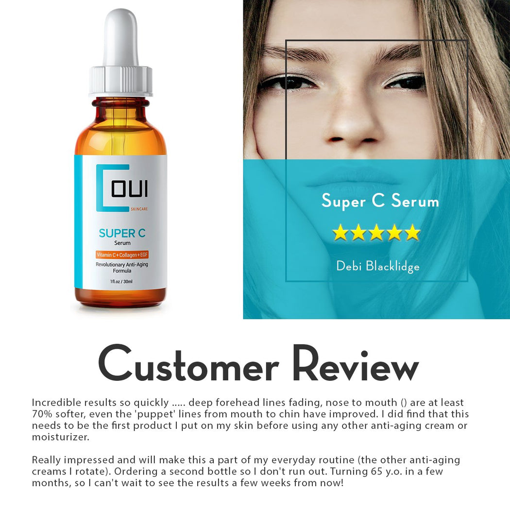 Super C Serum Customer Review