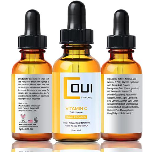 COUI Natural Vitamin C Serum Triple