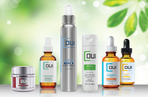 COUI skincare product line