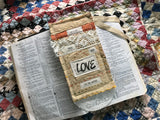 Prayer Pocket Bookmark * God is Love