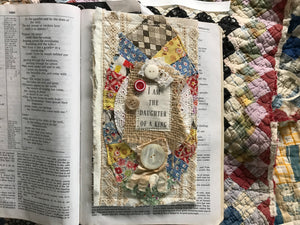 Prayer Pocket Bookmark * I am the daughter of a King