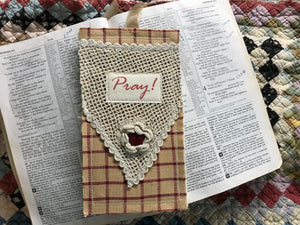 Prayer Pocket Bookmark * Pray!
