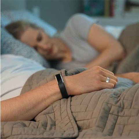 This iconic fitbit fitness band and step tracker can be worn through the night to track your sleeping patterns