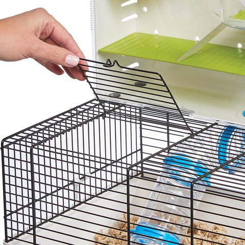 Good hamster cages and habitat with top door for access
