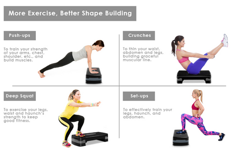 Step aerobics at home – cover all types of exercise and improve your gym routine