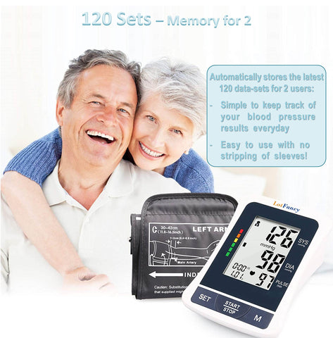 The most accurate blood pressure monitor helps with blood pressure control by helping to store the last 60 readings each for 2 users.  The best blood pressure monitor does all it can to help you monitor and manage your blood pressure.,