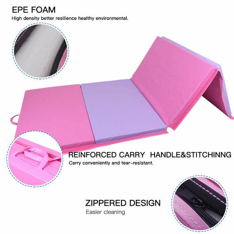 gymnastics mats perfect for all types of exercise with 2 inch foam padding