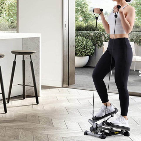 Mini stepper, portable and perfect for setting up a home gym.  Step and exercise to your heart's content
