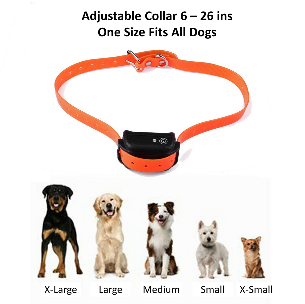 Best dog shock collar adjustable to fit all sizes of dogs.  Shock collar for small dogs