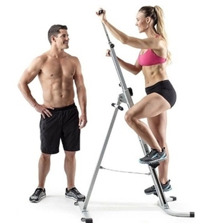 Vertical climber - perfect for home gym, male female low intensity to high cardio workouts