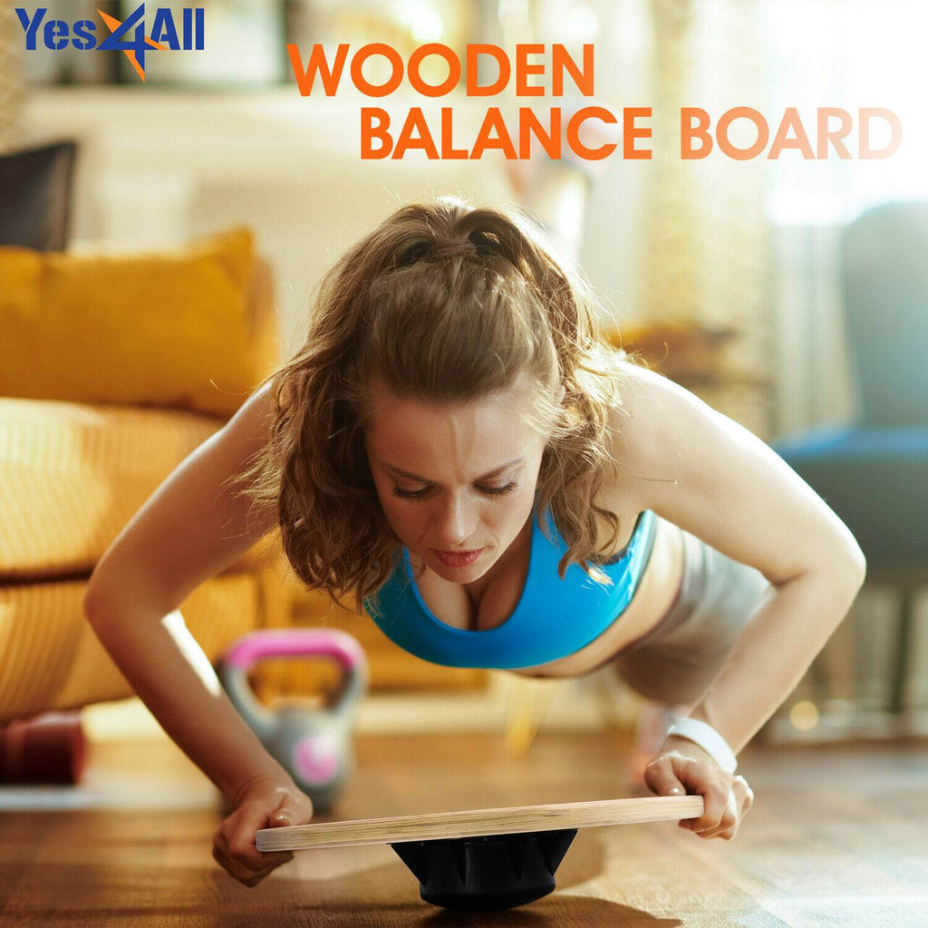 Standing desk wobble board keeps you neat and trim while you work out and exercise at home