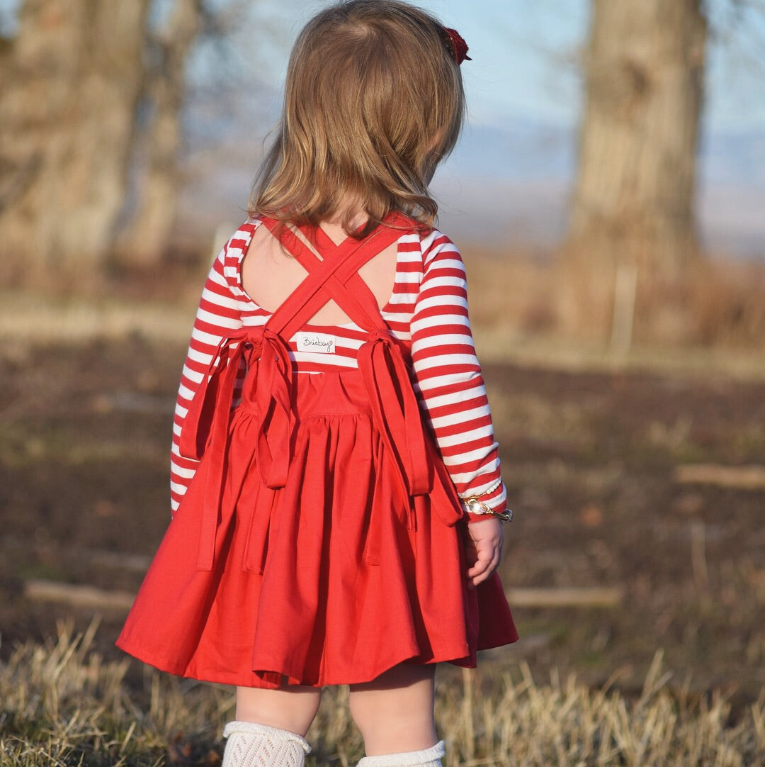 Valentines Day Pinafore