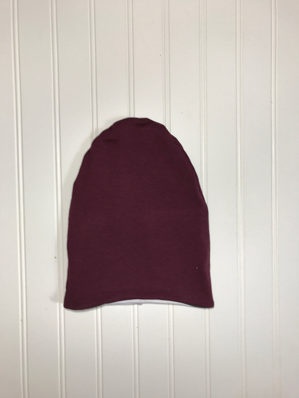 Reversible slouchy beanie