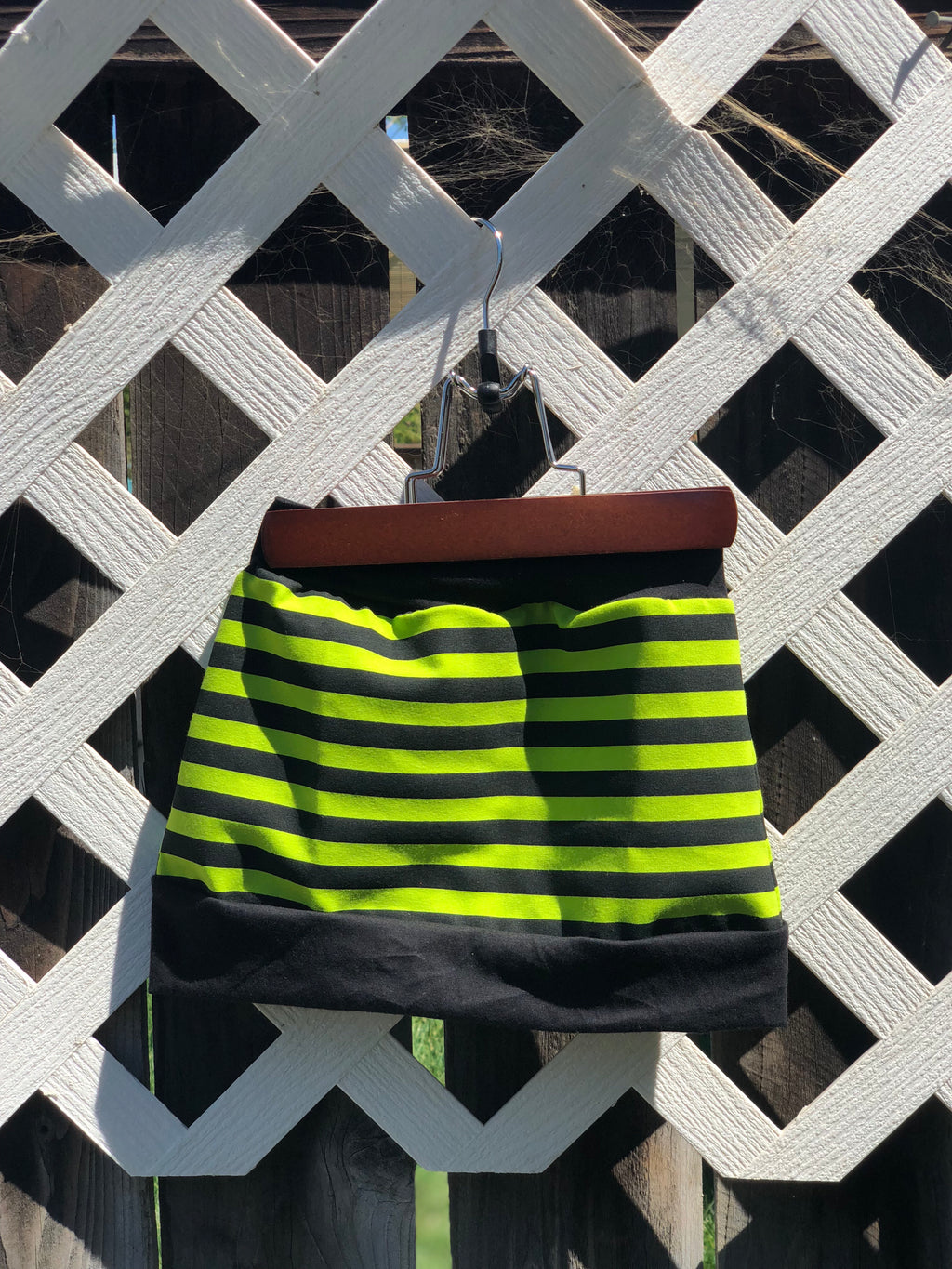 Striped candy lane skirt