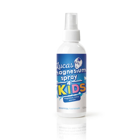 Lucas Magnesium Spray 4 Kids