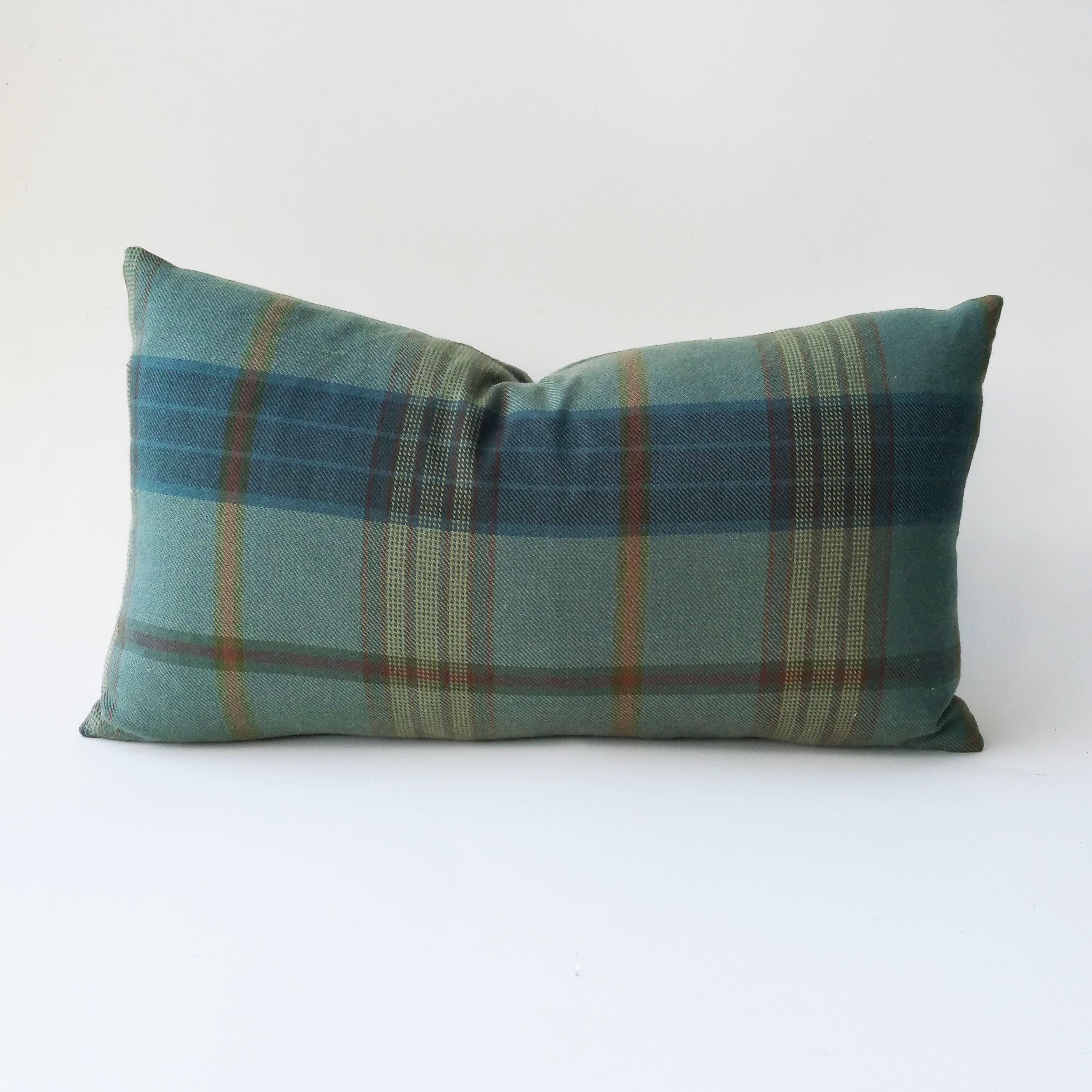 Lantern House Plaid In Sage By Ralph Lauren Home Pillow Cover