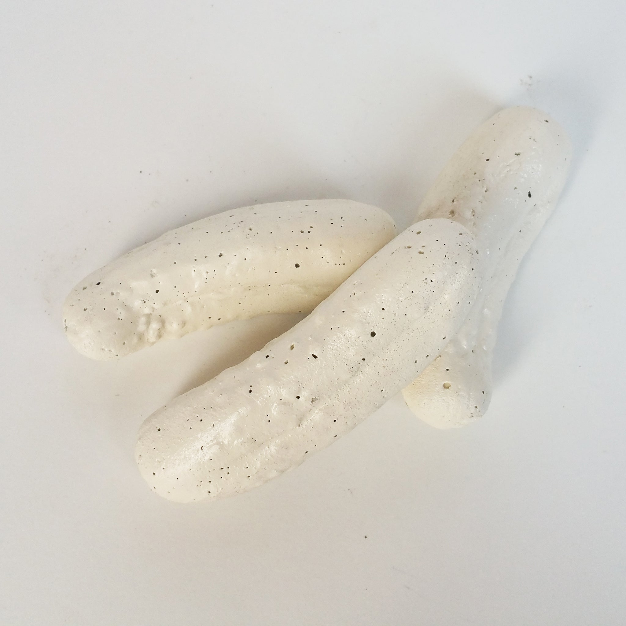 White Decorative Concrete Pickles Home Decor Accents