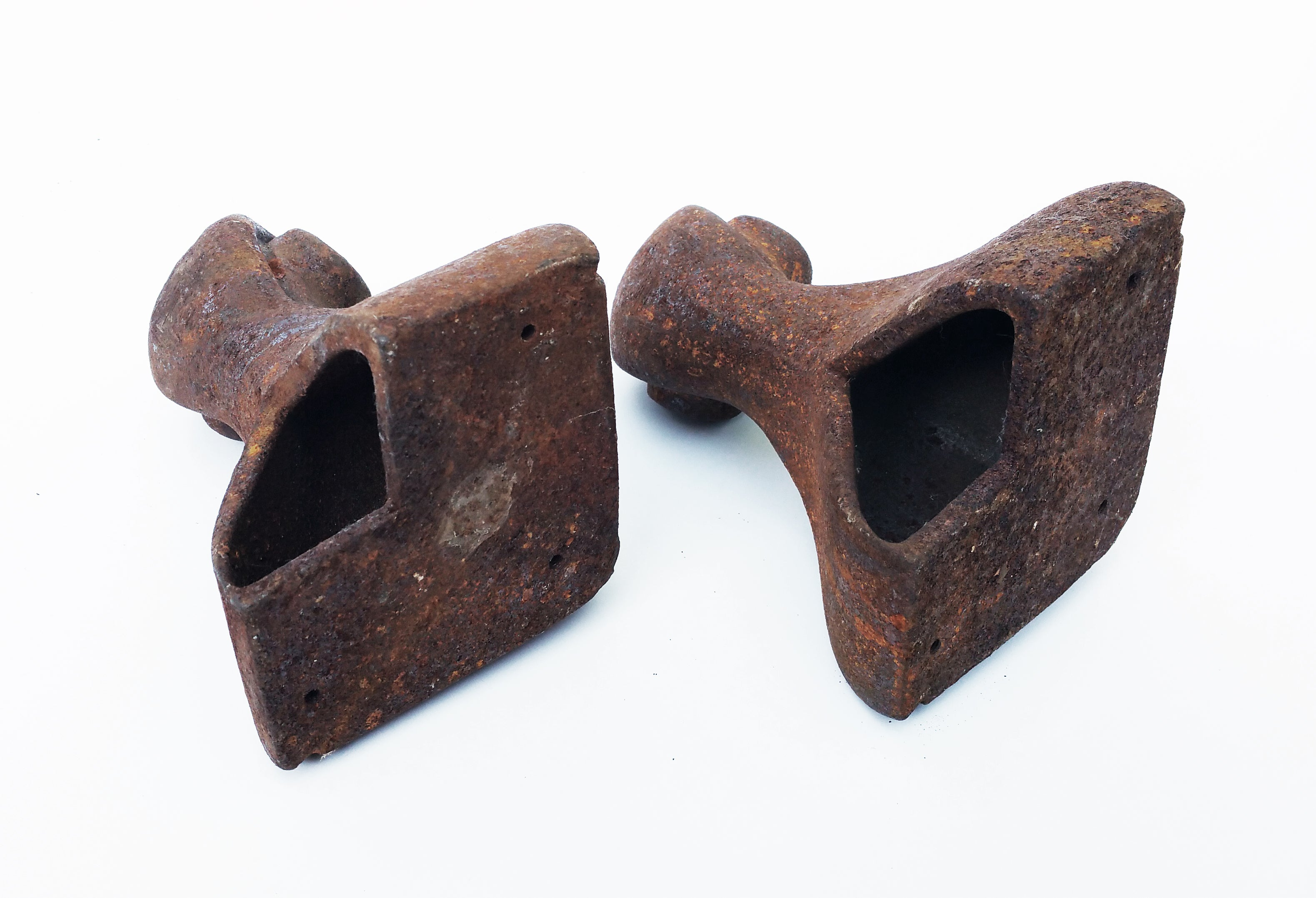 Antique Cast Iron Claw Feet, Set Of Two