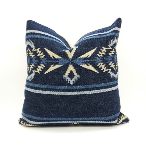 Ralph Lauren Tribal Blanket Pillow Cover Arrowhead Night Sky