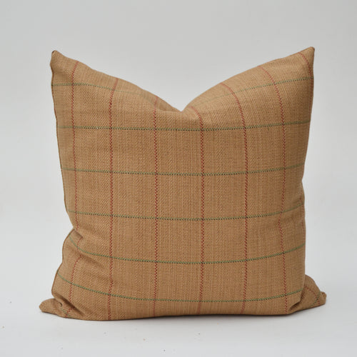 Kravet Camel Windowpane Plaid From Newport Collection