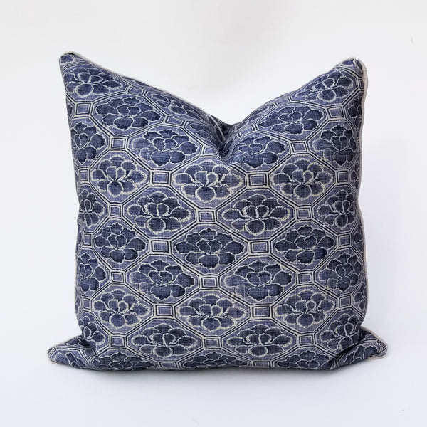 Ralph Lauren Nakuru Floral Pillow Cover In Indigo