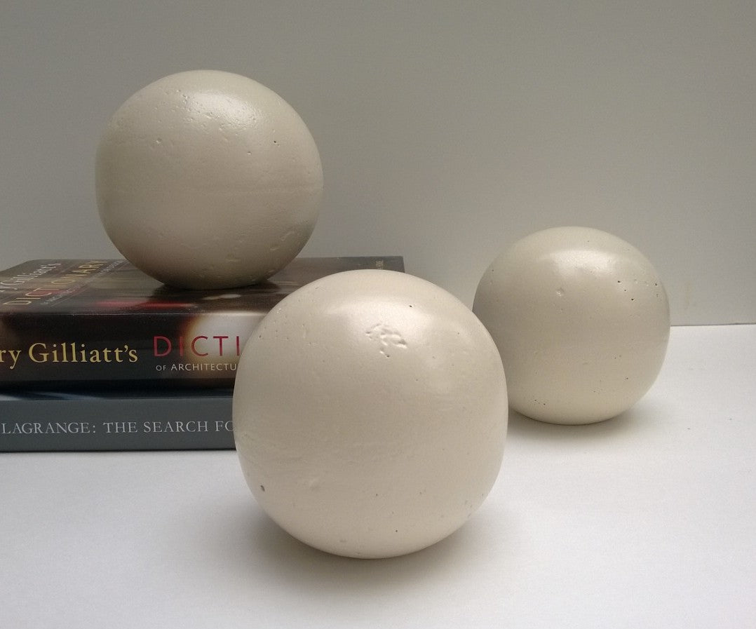 Decorative Sphere - White