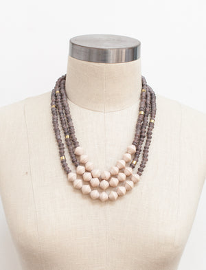 Mocha Emery Necklace
