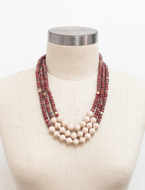 Wine Emery Necklace