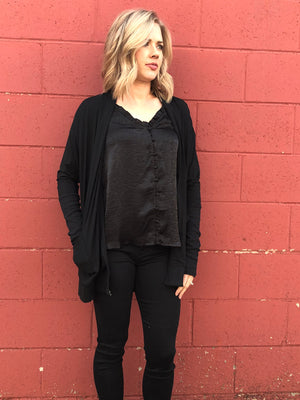 Liz Cardigan in Black