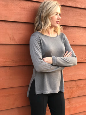 Glimmer Long Sleeve Top- XS, S & M