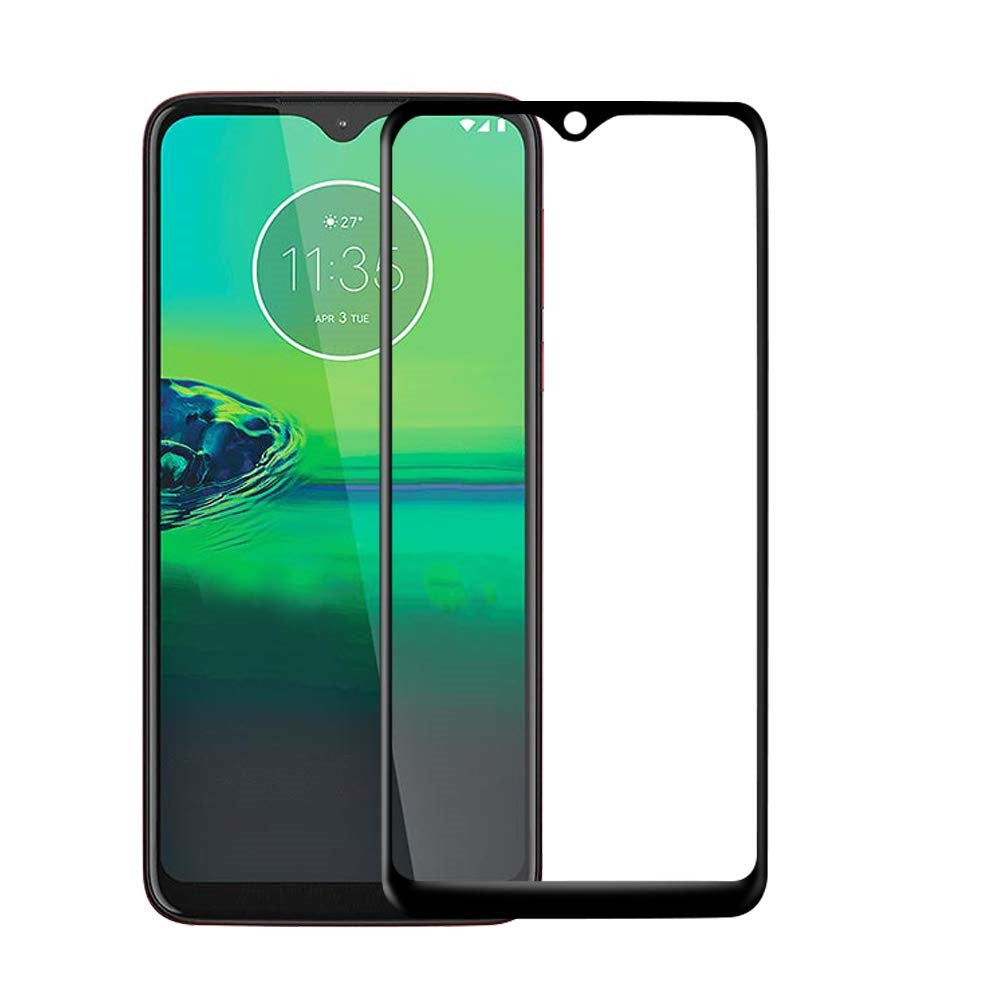 Motorola Moto G8 Play Tempered Glass Screen Protector Full Coverage